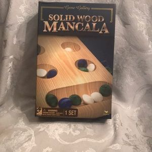 Solid wood mandala game all pieces in box